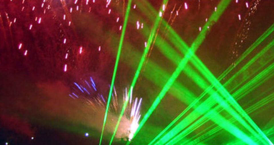 Show laserowo-pirotechniczny