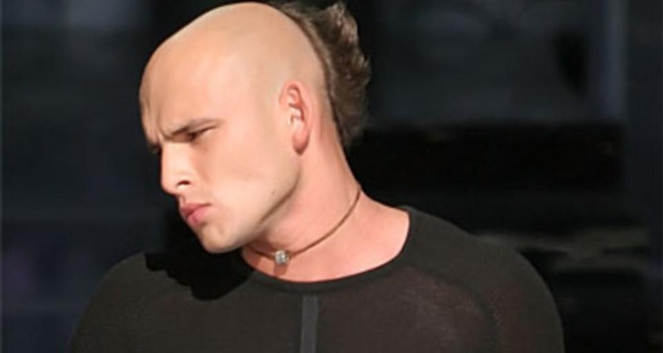 Michał Gasz z zespołem