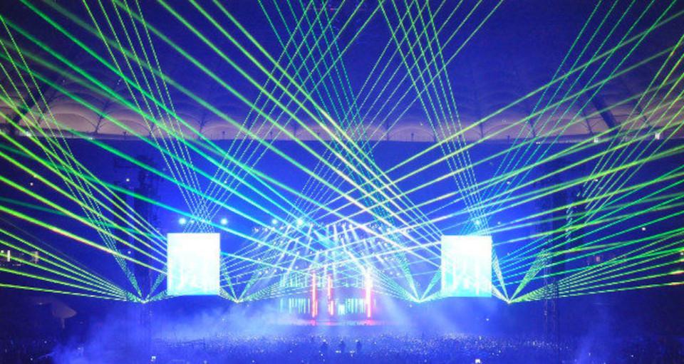 Pokazy laserowe – laser show