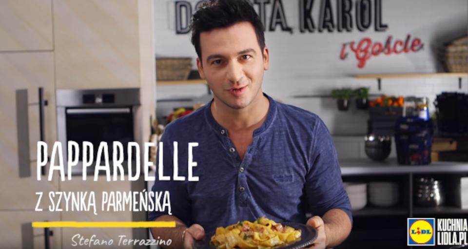 Stefano Terrazzino kulinarnie