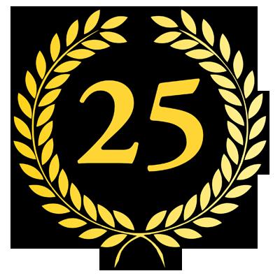 25 lat na rynku